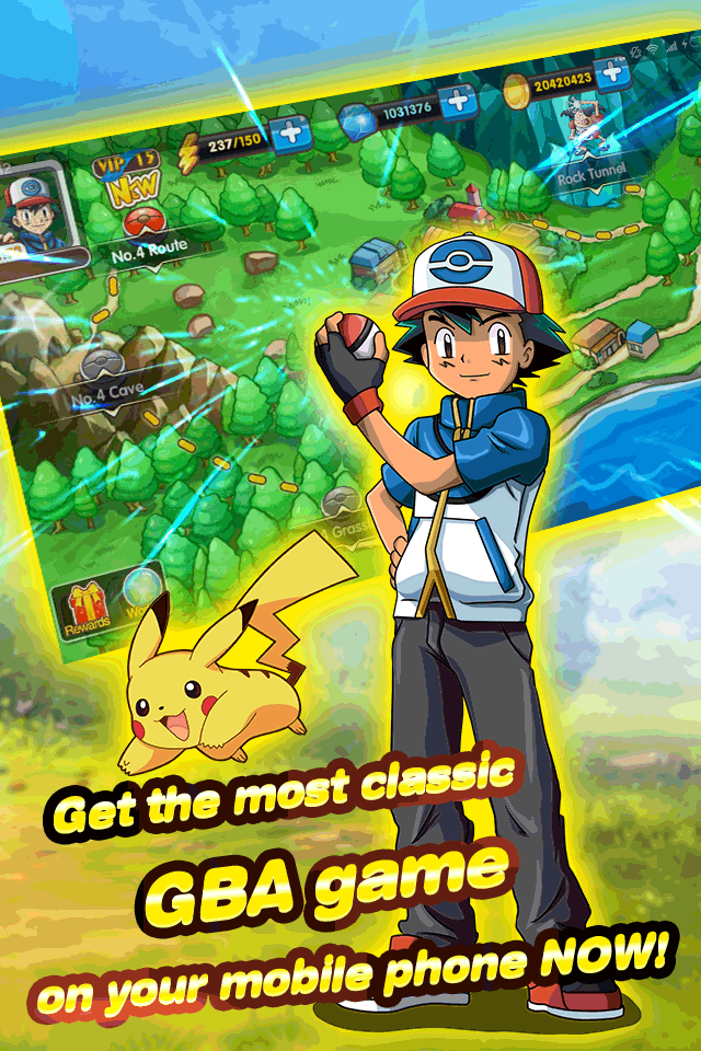 pokemon game apk for android