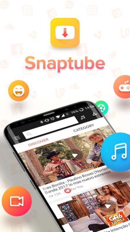 SnapTube VIP - YouTube Downloader HD Video Screenshot 0