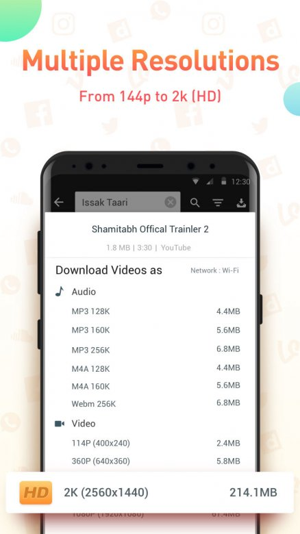 SnapTube VIP - YouTube Downloader HD Video Screenshot 2